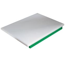 PDP/GR-C  - Snijplank in polyethyleen voor groenten (groen)