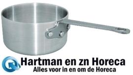 K633 - Vogue aluminium steelpan  24 cm - 5.1 Liter