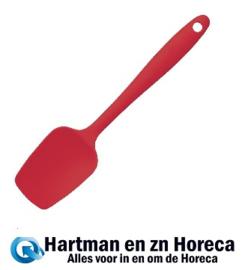 GL354 -Kitchen Craft siliconen spatel rood 20cm