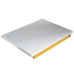 PDP/YL-B - Snijplank in polyethyleen voor kip (geel)