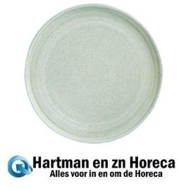 FB564 -Olympia Cavolo plat rond bord zacht groen 27cm