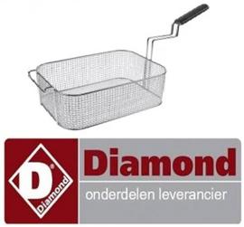 A22/PF-15 - Frietmand  voor friteuses 15 liter DIAMOND