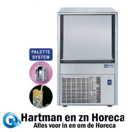 MXP-45A/N - Holle ijsblokjesmachine 38 kg met reserve 12 kg DIAMOND HORECA
