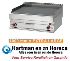 E65/PL10T - Elektrische bakplaat EXTRA-BREED met vlakke plaat mm (BxDxH) : 1000x650xh280/380 DIAMOND Alpha 650