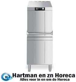HTY625D - Smeg Professionele doorschuifvaatwasser 600 x 500 korf, 550 x 550 korf en 500 x 500 korf