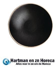 FA319 - Canvas ondiepe schalen zwart 20cm Olympia
