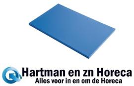 GN348 - Gastro M HDPE snijplank blauw 600 x 400 x 20 mm