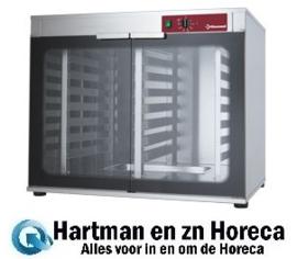 AMHF/305-P - Rijskast voor oven 2 deuren 2x 8 niveaus DIAMOND
