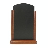 CE416 - Elegant tafelbordje bruin Afmeting: 21x15cm