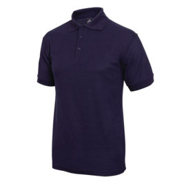 A736-S - T SHIRT Donkerblauw. Maat S.