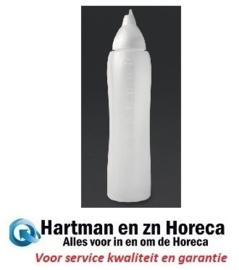 CW114 -Aravent transparante anti-drup knijpfles 1 liter