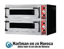 GR216 -Gastro M pizzaoven met 2 kamers type Rome 2