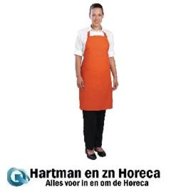 B195 -Chef Works halterschort oranje