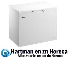 412452135 - Bedrijfsklare EL 35-NC commerciële, vrieskist 347 liter met statische koeling, met geschuimde klapdeksel NORDCAP