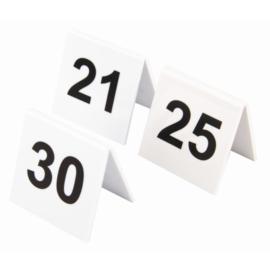 L983 - Olympia plastic tafelnummers 21-30