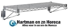 U200 - Vogue draad wandplank 61cm x 31 cm