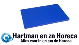 H791 -Hygiplas LDPE snijplank blauw 305x229x12mmG