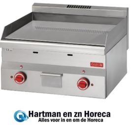 GN023 - Gastro M 600 elektrische bakplaat 60/60 FTE-CR