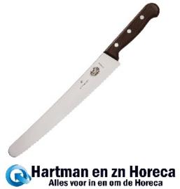 C735 - Victorinox Rosewood gekarteld bakkersmes 25,5cm
