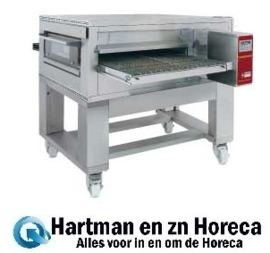 FTGV 100/130-N - Gas pizza band tunnel-oven geventileerd, breedte 1000 mm DIAMOND
