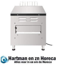 DB175 -Buffalo dubbele conveyor toaster