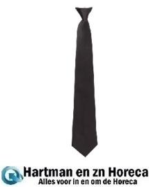 A724 - Clip-on stropdas zwart