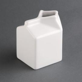 SA270 -Olympia Whiteware porseleinen melkkan melkpak 0,15ltr