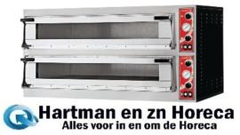 DS183 -Gastro M Napels pizzaoven met 2 kamers