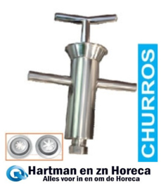 FCT/DM1 - Manuele doseerder voor churros (1.5Kg) DIAMOND