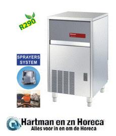 ICE50A-R2 Volle ijsblokjesmachine 47 kg, met reserve - LUCHT
