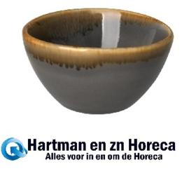 HC378 - Olympia Kiln dipschaaltjes grijs 7cm -12stuks