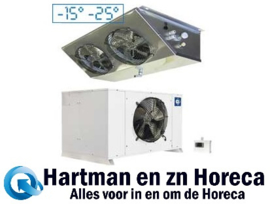 HN201-NP - Vriescelmotor 8,74 m³ buiten opstelling Temperatuur : -18° -22° DIAMOND