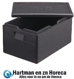 HHDL988 - THERMOBOX BOXER GN 1/1 ZWART 46L.