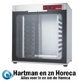 AMHF/346-P - Rijstkast 2 deuren 8 niveau's voor ovens  CGE11-P (230/1) * CGE11-P * BRIO64/X-P * CPE644-P(230/1) * CPE644-P * CGE611-BP * CPE664-BP