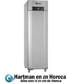960620041 - Gram SUPERIOR EURO koelkast - euronorm - SUPERIOR EURO K 62 RAG L2 4S - enkeldeurs - Vario Silver
