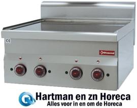 E60/4VC6T - Vitrokeramische fornuis 4 kookplaten -Top-DIAMOND