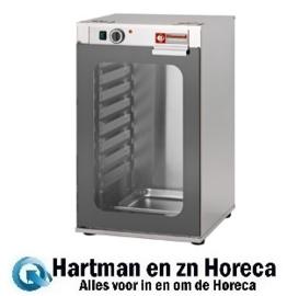 AMHF/BGC - Rijstkast voor oven, 1 deur, 8 niveaus DIAMOND