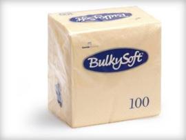 T32580 - Bulkysoft Servet 2 Laags 24×24 1/4 Vouw 3000st Crème