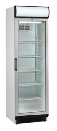 435103819 - Koelkast horeca  met circulatiekoeling, glazen deur met handgreep en reclamedisplay  NORDCAP KU380G-CP