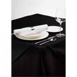 CE698-ZW - Tafelkleed zwart 225x225cm