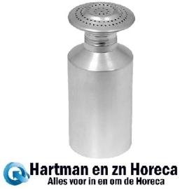833001 - Zoutstrooier aluminium schroefdop 19 cm