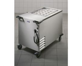 0161451 - HUPFER Koelstapelaar BDC/65-53 gesloten gekoeld korven 650 x 530 mm