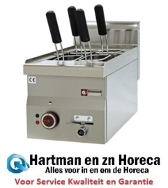 E60/CP3T -Elektrisch pastakoker, kuip 14 liter -Top- DIAMOND Pro 600