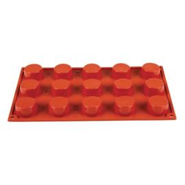 N945 - Pavoni Formaflex siliconen bakvorm 15 petit-fours