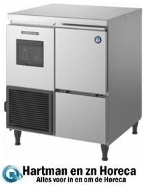 FM-80KE-HC - Schilferijsmachine -Productiecapaciteit: 85kg/24u Opslagcapaciteit: 26 kg Hoshizaki