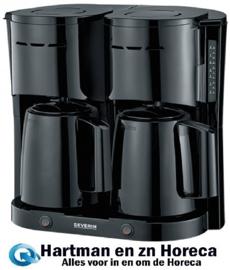 910016 - Koffiezetapparaat - 2 x 1 Liter Kannen - Severin
