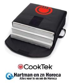 "XLVV001 - CookTek VaporVent Pizza tas 18"" los (black), XLVV001"