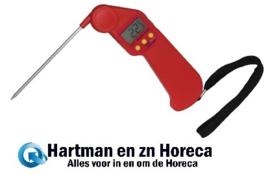 CF913 - Hygiplas Easytemp kleurcode thermometer rood -50 / 300 Graden
