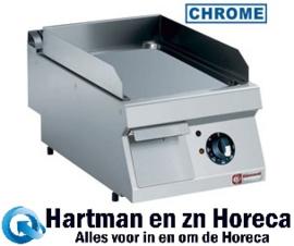 E17/PLCD4T-N - Elektrische vlakke hard verchroomde kookplaat -TOP- DIAMOND