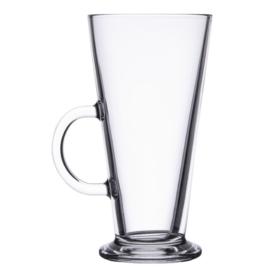 GF465 - Latte koffieglas gehard 45cl - per 6 stuks